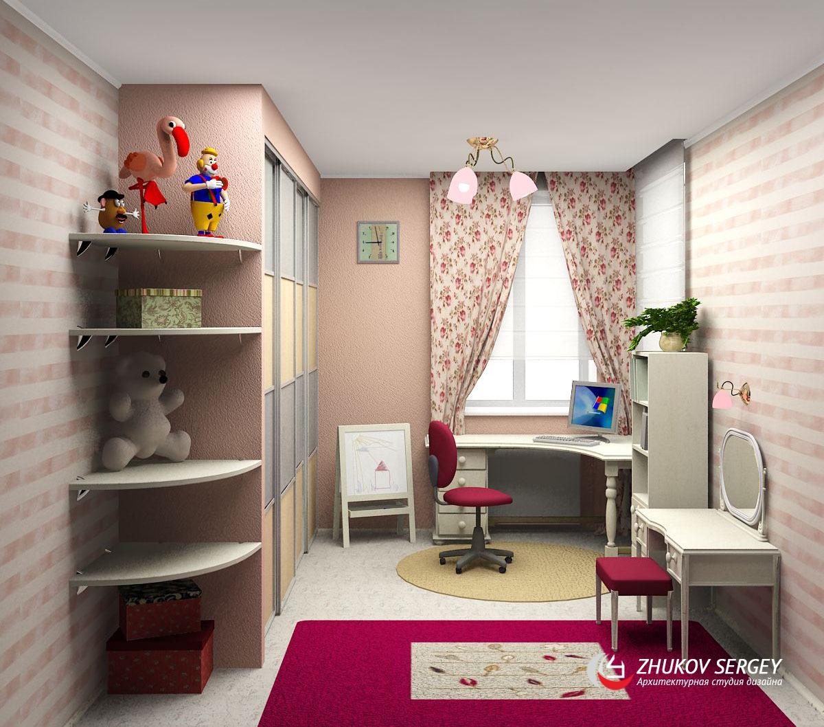 Дизайн детской маленьких размеров